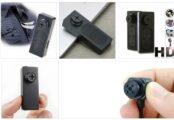 Классика - беспроводная шпионская миникамера-пуговица
