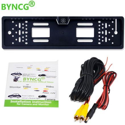 BYNCG 2020 - рамка под номерной знак с ИК камерой заднего вида Image