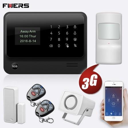 FUERS G34 - беспроводная домашняя охранная сигнализация (Wi-Fi, GSM, 4G) Image