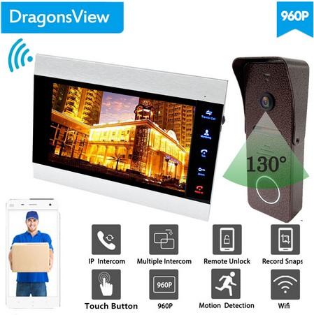 Беспроводной видеодомофон с монитором Image