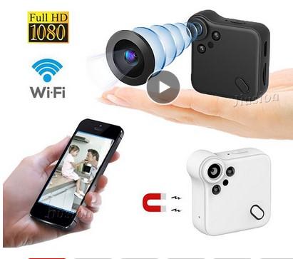 Мини камера (Wifi IP HD, ИК, датчик движения) Image