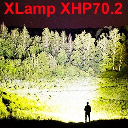 Очень мощный ручной светодиодный фонарик на XHP70.2 Image